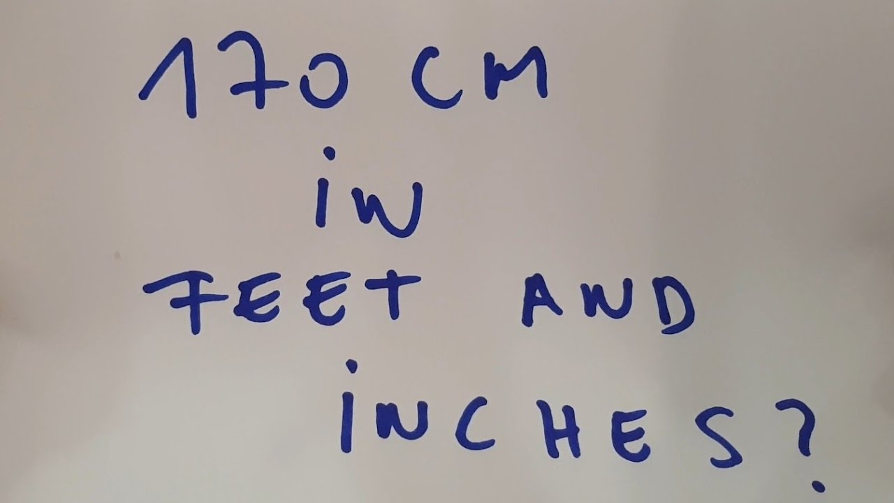 Feet and inch cm to Convert 220