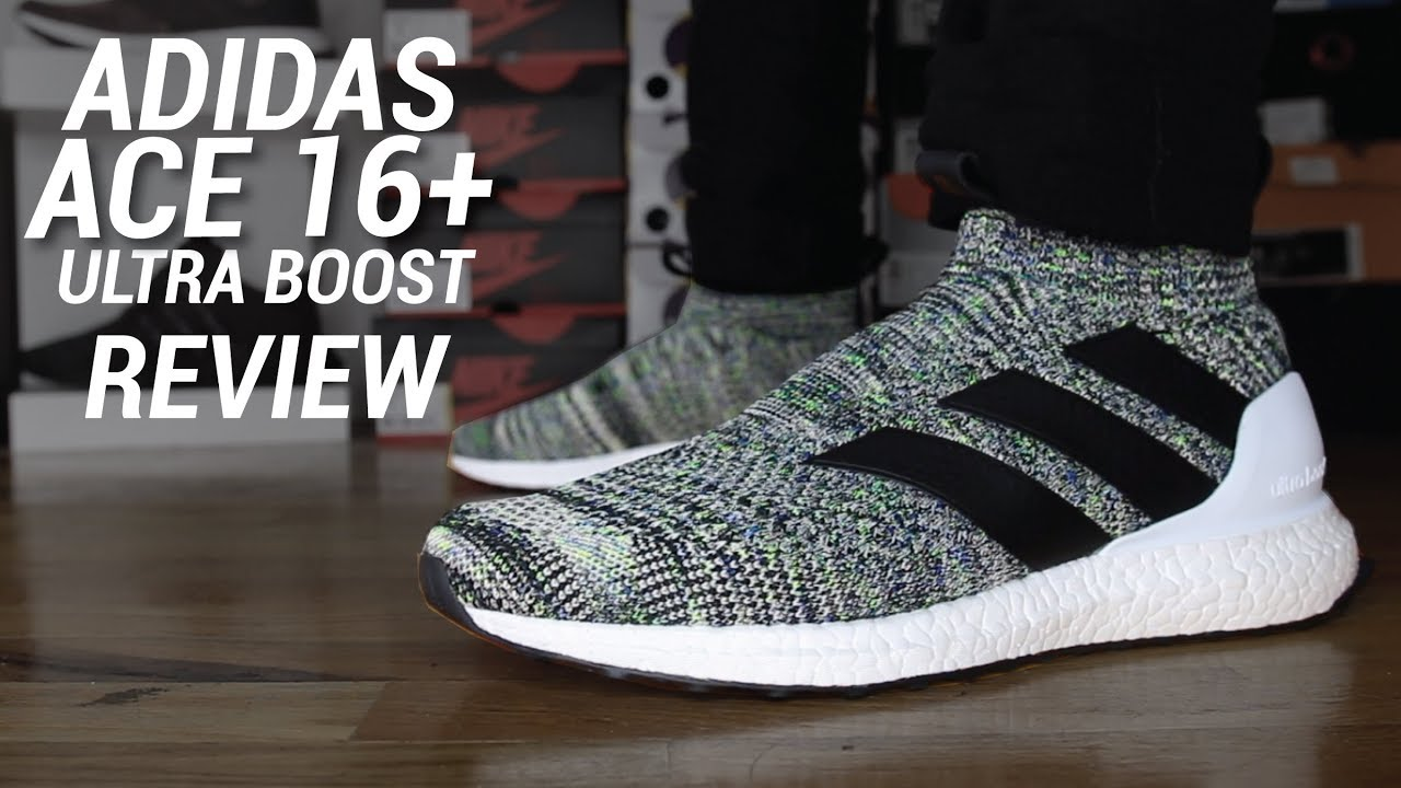 best loved b76d2 4f3aa ADIDAS ACE 16+ ULTRA BOOST REVIEW