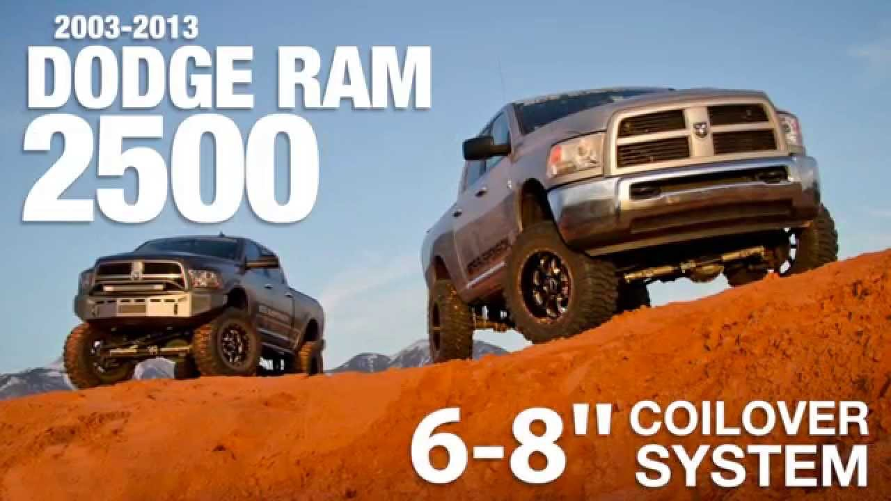 Dodge RAM 2500 Coilover Conversion Long Arm Systems from BDS - YouTube