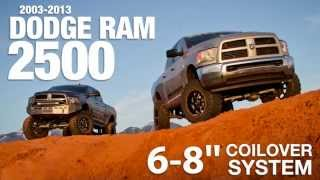 dodge ram 2500 coilover conversion long arm systems from bds