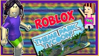 Bin's First Theme Park Tycoon! Roblox Gameplay! Bins Toy Bin