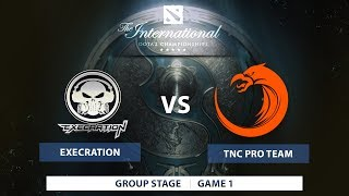 Execration vs TNC Pro Team | TI7 SEA Qualifiers 2017 | Group Stage | Best of 1