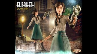 Bioshock Elizabeth Gaming Heads Statue Unboxing (Part 1)
