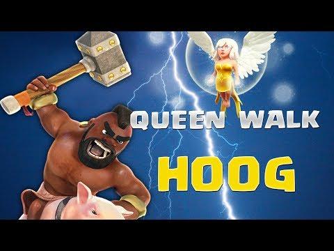 Queen Walk Hog Rider Clash Of Clans | Hitmen vs AE Vietnam
