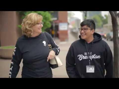 LAB B's Zero Gravity program visit with Mayor Linda Jeffrey
