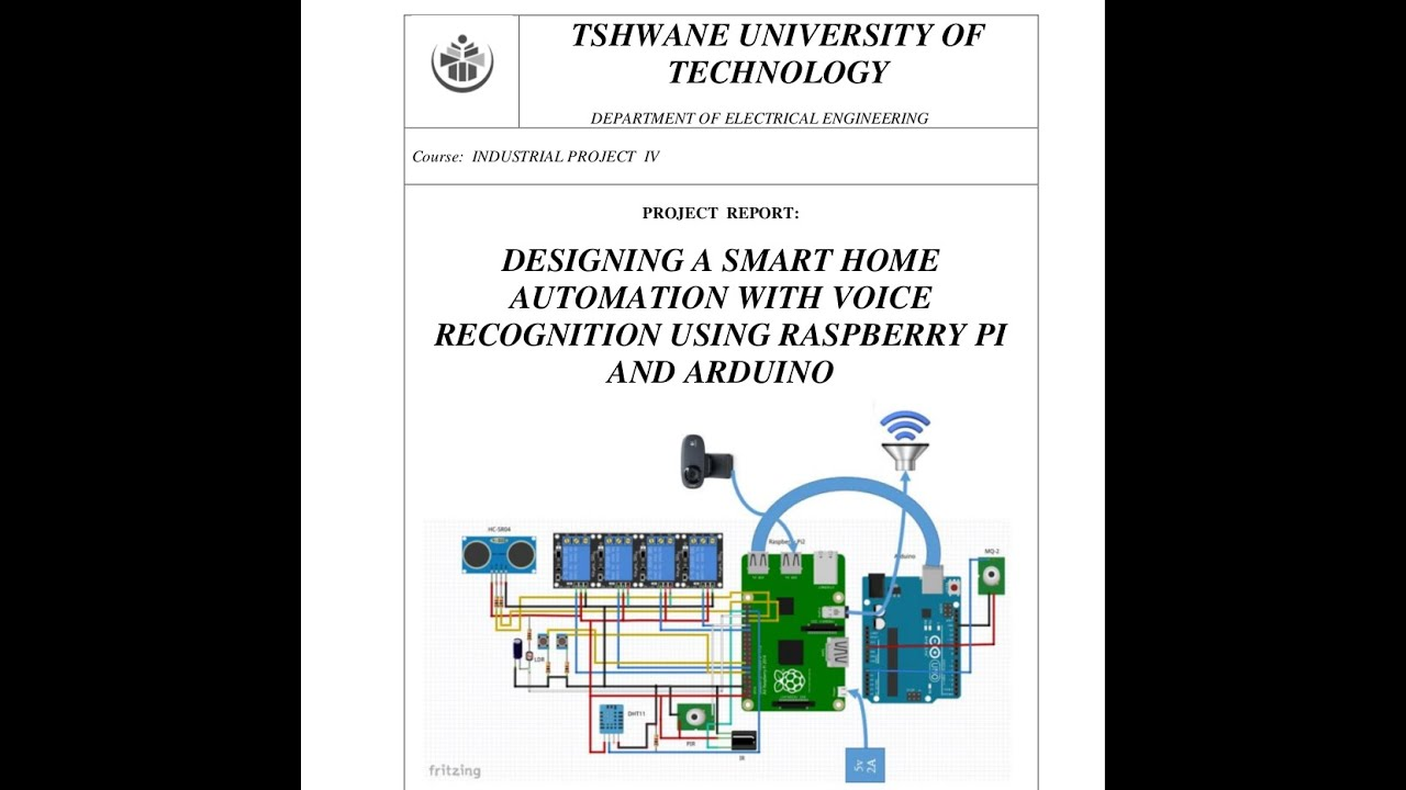 Project] Smart Home Automation using Raspberry Pi and Arduino