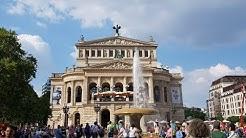 FRANKFURT am Main. Mainzer Landstraße und Alte Oper.