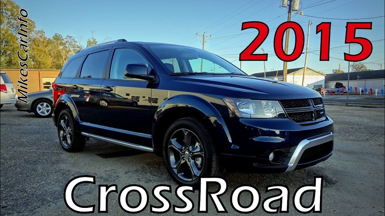Dodge Journey Crossroad >> 2015 DODGE JOURNEY CROSSROAD - YouTube