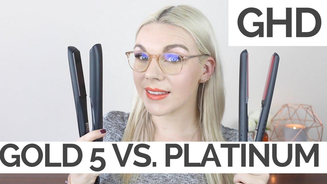 Ghd Platinum Vs V Gold Review