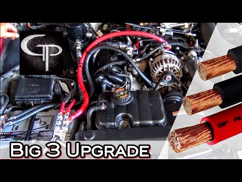 HOW TO INSTALL THE BIG 3 UPGRADE CAR AUDIO