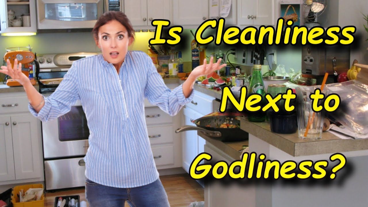 Is Cleanliness Next to Godliness?