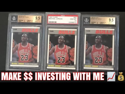 Investing In Basketball Cards Live! How To Make Money Flipping Sports Cards!