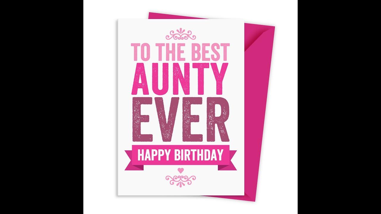 Aunt Rimas Birthday Gift
