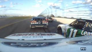 NASCAR Xfinity Series 2017. Daytona International Speedway. Brennan Poole & Blake Koch Crash