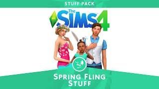 [SIMS 4 CC] Spring Fling stuff