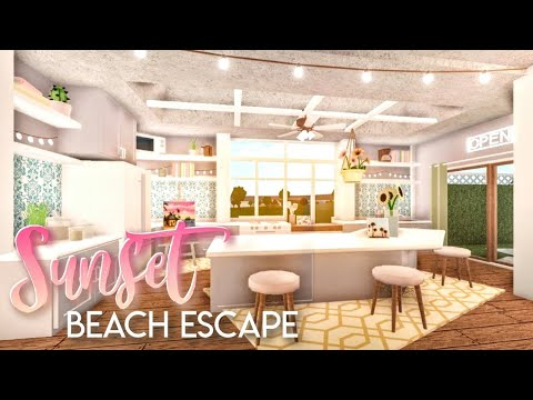bloxburg|-sunset-beach-house-|-house-build
