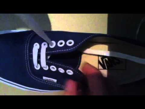 Comment faire ses lacets Vans