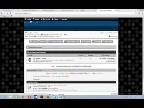 .TK Site Kurma Ve İçine MyBB Forum Kurma [Açıklamalı Tam Anlatım]