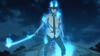 Blue Exorcist - Rin V.S Amaimon FULL FIGHT 1080P (Eng Sub)