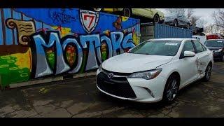 2016 Toyota Camry. Авто до 10000$. Автомобили с аукциона Копарт (copart.com)