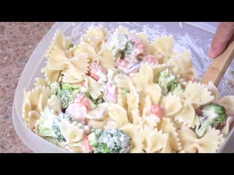 Easy Pasta Salad Step By Step Chef
