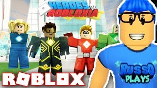 BRAND NEW ROBLOX GAME!! - Heroes Of Robloxia - How To Get Wings Of Robloxia!