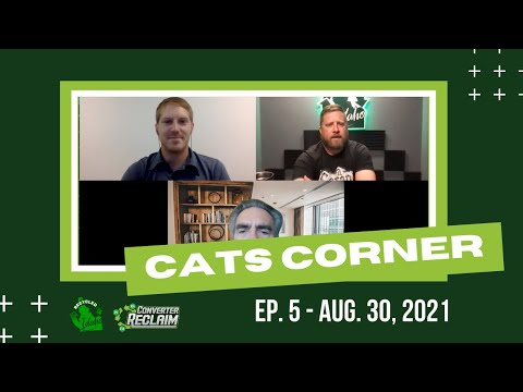 Cats Corner Episode #5 With Pete Thomas, Scott Pollan and Nick Snyder