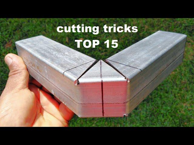 Top 15 Box bar cutting tricks