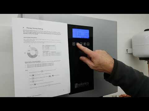 Bunsen Air - How to set the Energy Saving Mode - Infinity Innovations