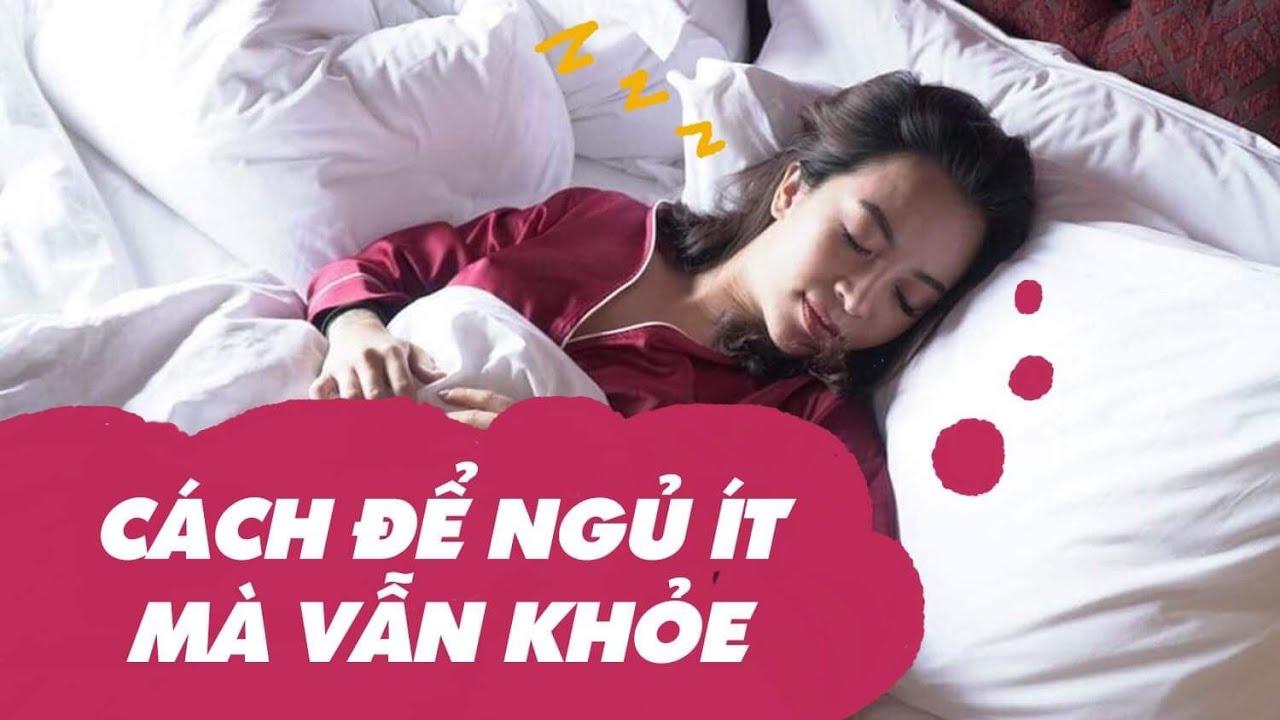 Cách để ngủ ít mà vẫn khỏe | Woman tips #6 ♡ Hana Giang Anh