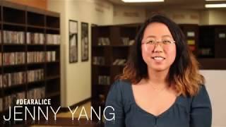 #DearAlice - Jenny Yang