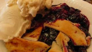 Betty's Quick Trick Blueberry Cobbler