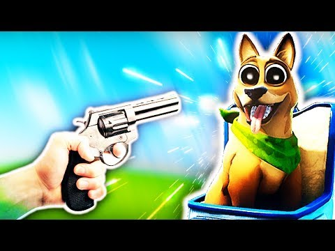 When you shoot my pet in Fortnite once