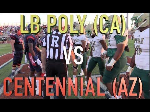 Long Beach Poly (CA) vs Centennial (AZ) 2015  Week 1:  UTR Highlight Mix