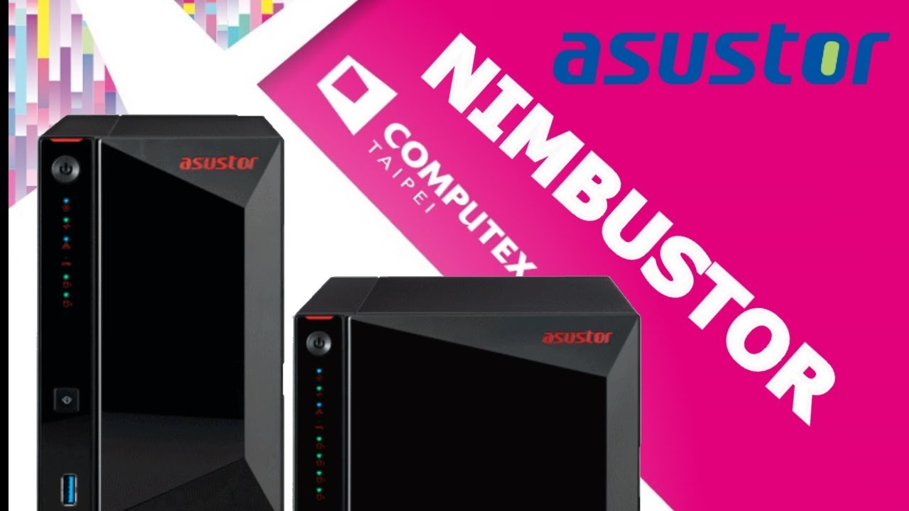 Asustor Nimbustor NAS for Gamers on Show at Computex 2019