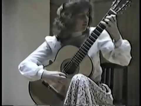 Rare Guitar Video: Nicola Hall plays Caprice No. 24 by Niccolò Paganini