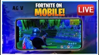 Fortnite Mobile Live Gameplay | Samsung Galaxy Skin on Note 9 #2