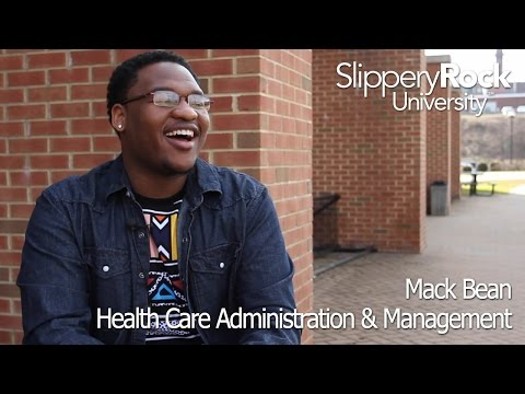 SRU Success Stories - Mack Bean, Health Care Administration & Mangement