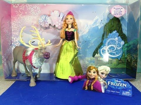 COLOR CHANGER Barbie Comparison Toy Video