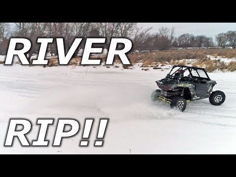 River Rip in a X3, YXZ, and RZR! DRIFT CITY! DRONE SHOTS!