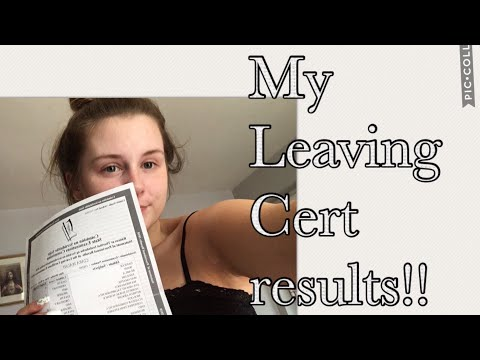 My Leaving Certificate Results Vlog!! || Ciara Walsh