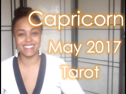 Capricorn Tarot May 2017 - WOAH! NEW MONEY! Your aid to getting there is....
