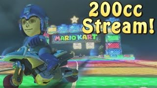 New Webcam! - Mario Kart 8 200cc with Viewers!