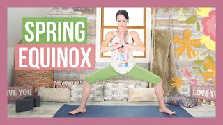Spring Equinox Blossoming Yoga Flow {35 min}