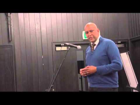 values and vision talk by Shahrar Ali, Deputy Leader, Green Party