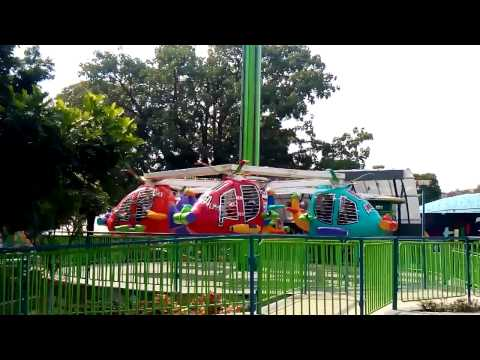 Helicopter ride in Essel world