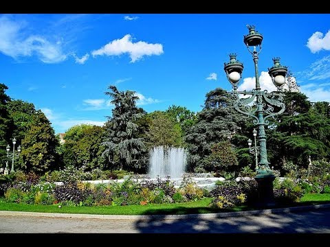 Places to see in ( Toulouse - France ) Jardin du Grand Rond - YouTube