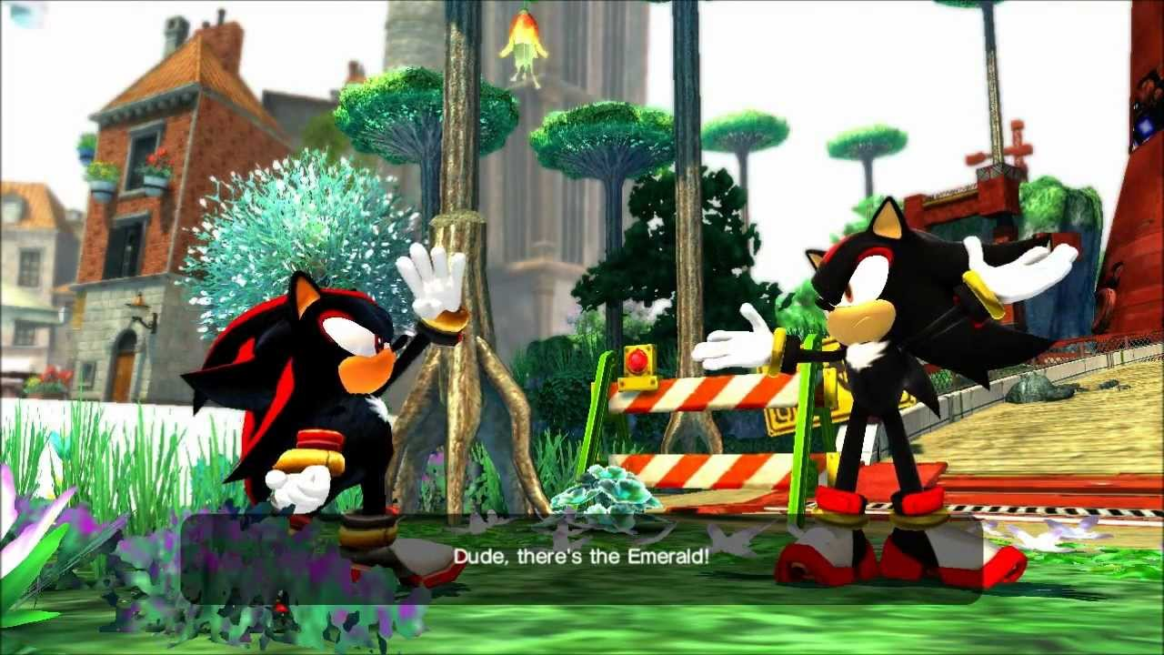 Sonic Generations Mod Shadow V5 Preview Youtube