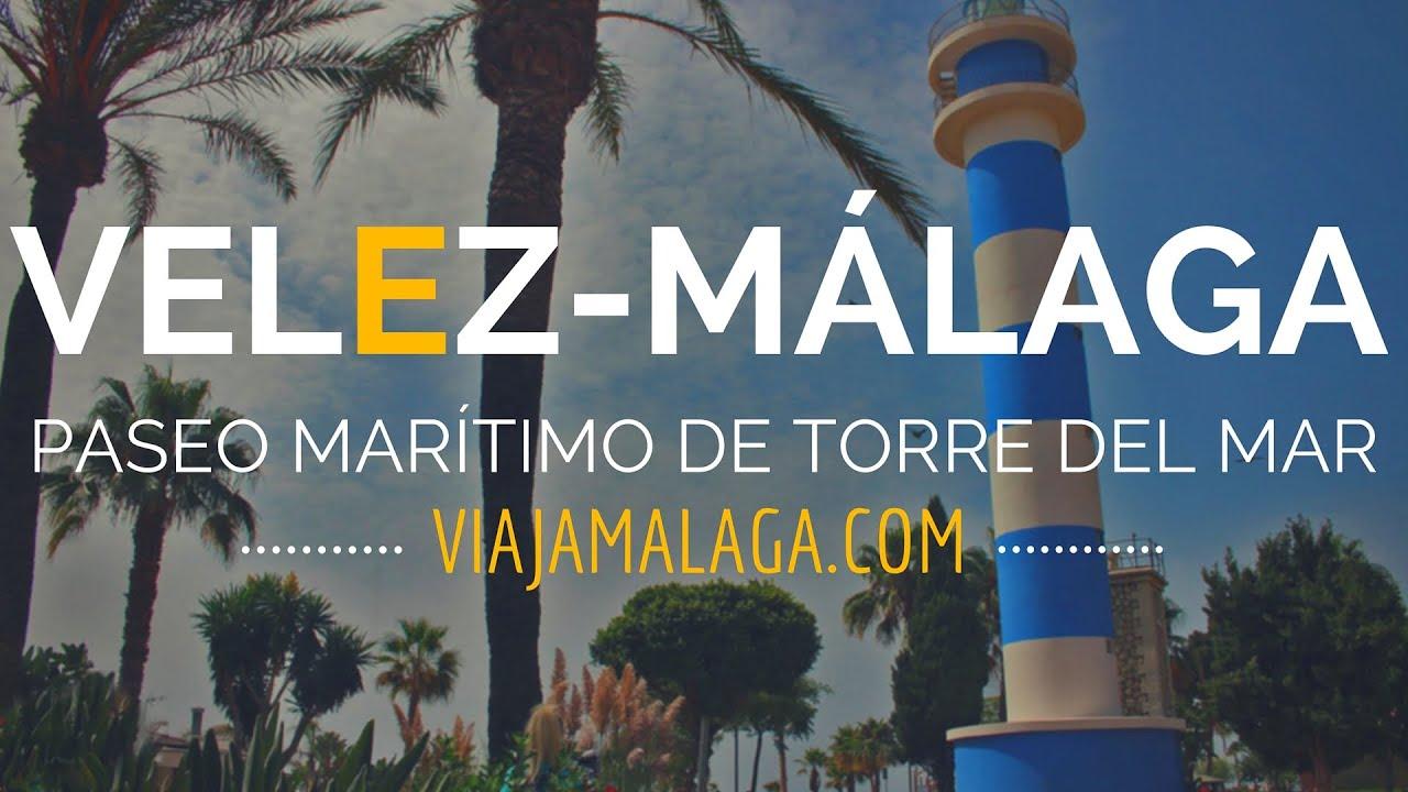 Paseo mar timo de torre del mar velez m laga viaja m laga youtube for Cerrajero torre del mar