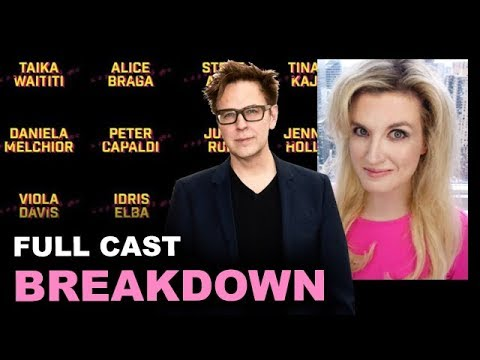 The Suicide Squad Cast - James Gunn 2021 BREAKDOWN